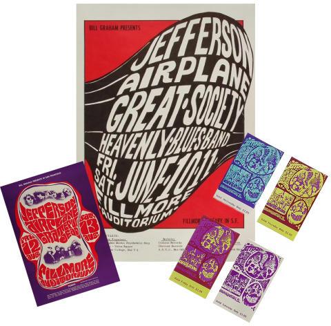 Jefferson Airplane Poster Set