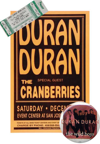 Duran Duran Poster Set