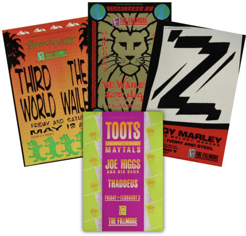 Reggae Poster Set