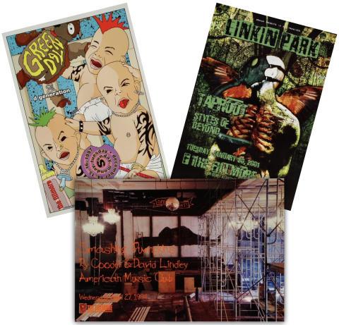 90's Rock Poster Set