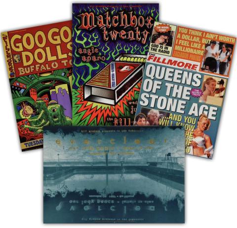 90's Rock #2 Poster Set