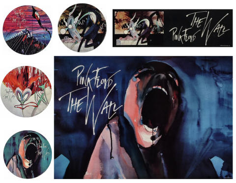 """Pink Floyd """"The Wall"""" Poster Set"""