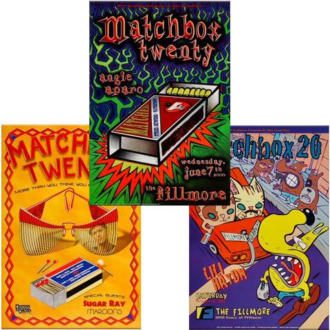 Matchbox Twenty Poster Set