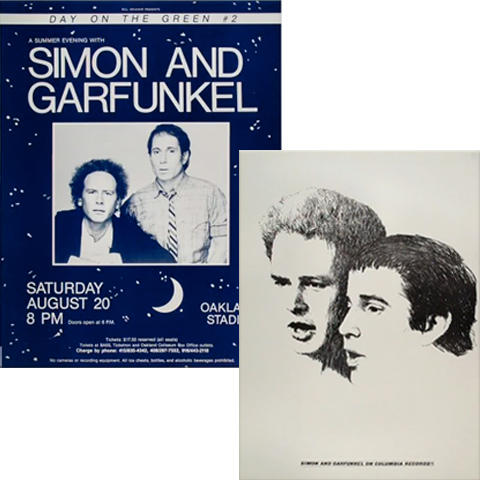 Simon & Garfunkel Poster Set Poster Set