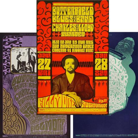 Bill Graham Collector's Set #1 Poster Set