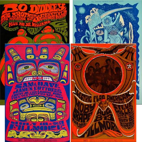 Bill Graham Collector's Set #3 Poster Set