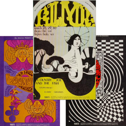 Bill Graham Collector's Set #3 Poster Set
