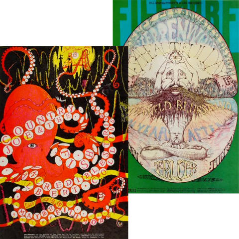 Bill Graham Collector's Set #6 Poster Set