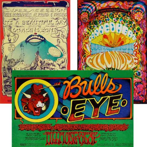 Bill Graham Collector's Set #8 Poster Set