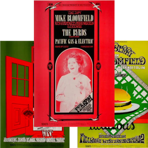 Bill Graham Collector's Set #12 Poster Set