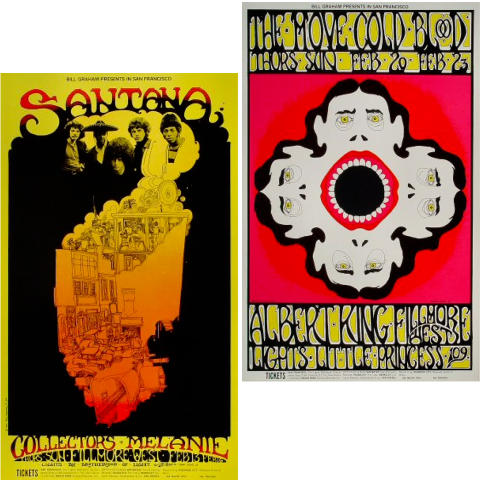 Bill Graham Collector's Set #13 Poster Set