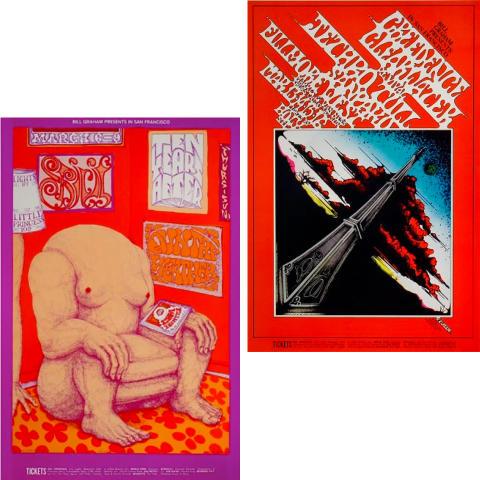 Bill Graham Collector's Set #14 Poster Set