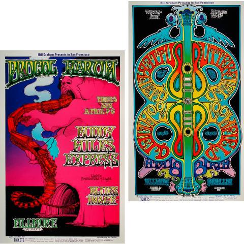Bill Graham Collector's Set #15 Poster Set