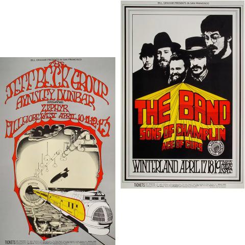 Bill Graham Collector's Set #16 Poster Set