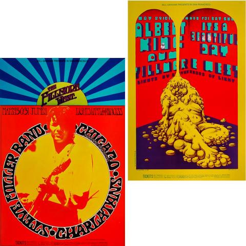 Bill Graham Collector's Set #17 Poster Set