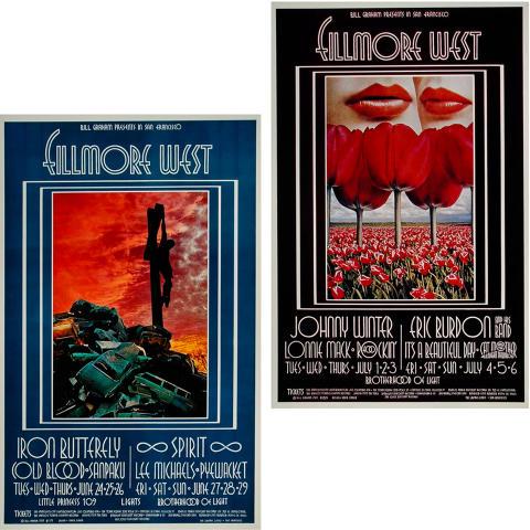 Bill Graham Collector's Set #19 Poster Set