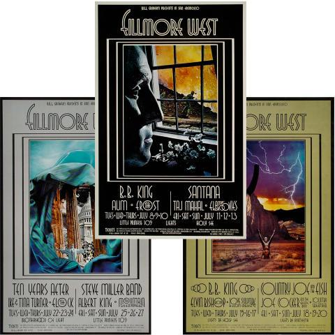 Bill Graham Collector's Set #20 Poster Set