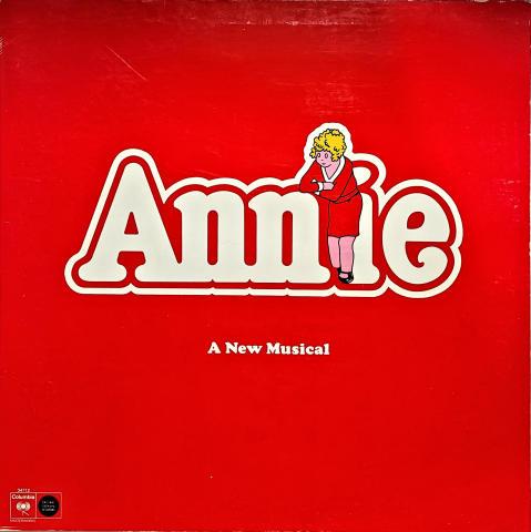 """Annie: A New Musical Vinyl 12"""""""
