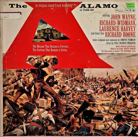 """The Alamo (In Todd-AO) Vinyl 12"""""""
