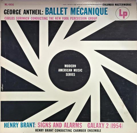 "Ballet Mecanique / Signs And Alarms / Galaxy 2 Vinyl 12"""