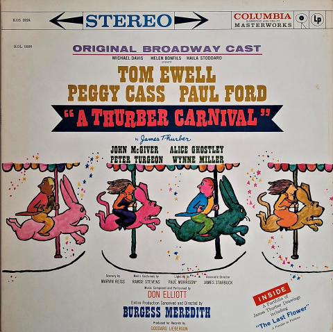 "A Thurber Carnival Vinyl 12"""
