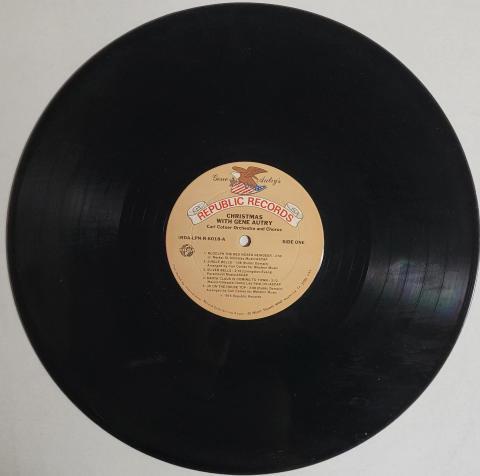 """Christmas With Gene Autry Vinyl 12"""""""