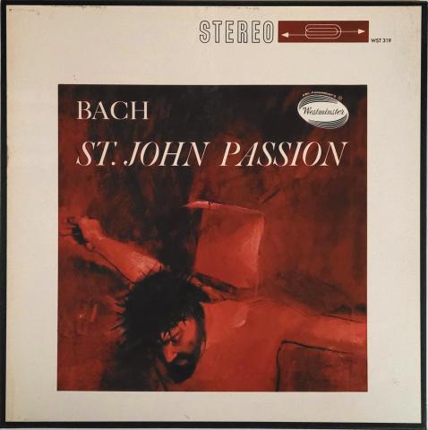 "St. John Passion Vinyl 12"""