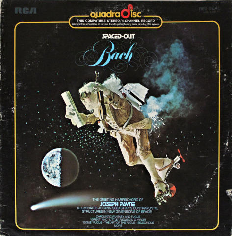"""Spaced-Out Bach Vinyl 12"""""""