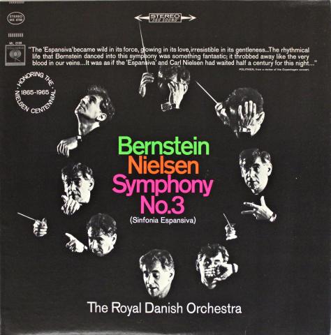 "Bernstein / Nielsen / Symphony No. 3 (Sinfonia Espansiva) Vinyl 12"""