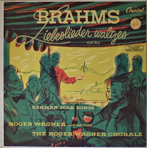 "Liebeslieder Waltzes Op. 52 Vinyl 12"""