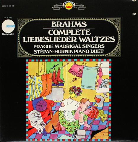 """Complete Liebeslieder Waltzes Vinyl 12"""""""
