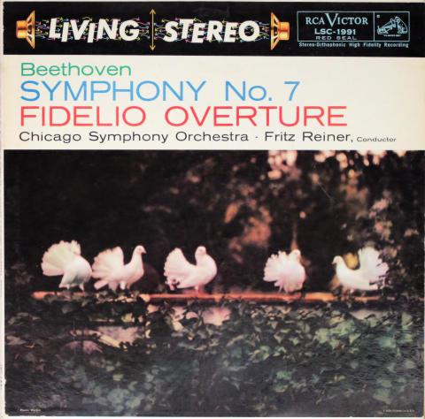 """Symphony No. 7 / Fidelio Overture Vinyl 12"""""""