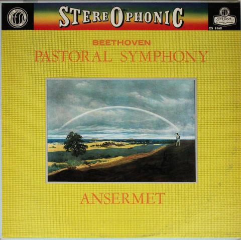 "SYMPHONY No. 6 'Pastoral' ANSERMET Vinyl 12"""