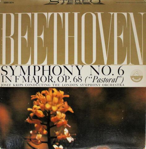 "Symphony No. 6 In F Major OP. 68 (""Pastoral"") Vinyl 12"""