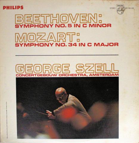 "Symphony No. 5 In C Minor / Symphony No. 34 In C Major Vinyl 12"""