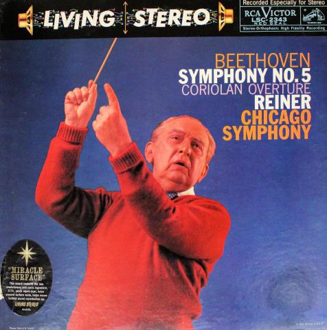 """Symphony No. 5, In C Minor, Op. 67 / Coriolan Overture, Op. 62 Vinyl 12"""""""
