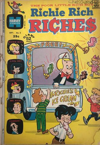 Harvey Publications: Richie Rich Riches #2