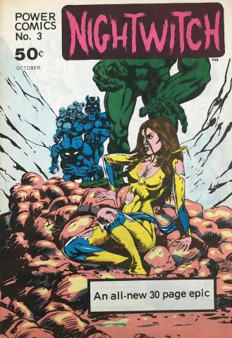 Power Comics: Nightwitch #3