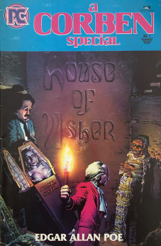 Pacific Comics: A Corben Special House of Usher