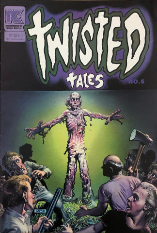 Pacific Comics: Twisted Tales #5