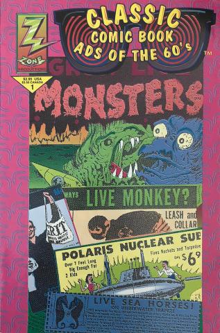 Comic Zone: Classic Comic Book Ads of the 60's