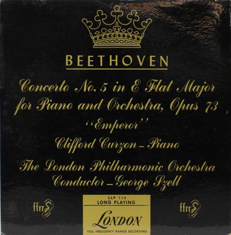 """Beethoven: Concerto No. 5 In E Flat Major Op. 73 """"Emperor"""" Vinyl 12"""""""