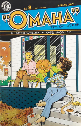"Kitchen Sink: ""Omaha"" The Cat Dancer #8"