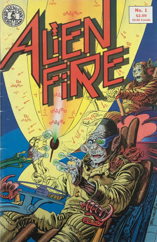 Kitchen Sink: Alien Fire #1