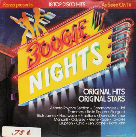 "Boogie Nights Vinyl 12"""