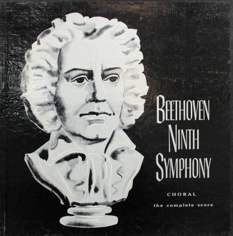 """Beethoven 9th Symphony in D Minor """"Choral"""" Op.125 Vinyl 12"""""""