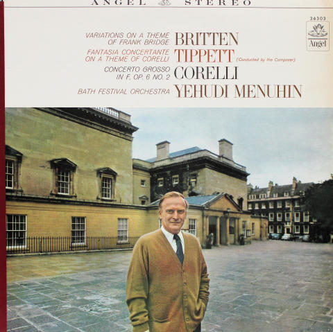 """Variations On A Theme Of Frank Bridge / Fantasia Concertante On A Theme Of Corelli / Concerto Grosso In F, Op. 6 No. 2 Vinyl 12"""""""