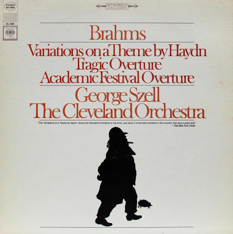 """Variations On A Theme By Haydn, Tragic And Academic Festival Overtures Vinyl 12"""""""