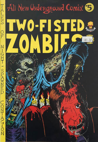 Last Gasp: All New Underground Comix #5 Two-Fisted Zombies