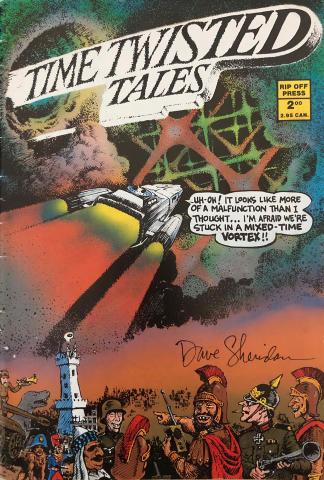 Rip Off Press: Time Twisted Tales